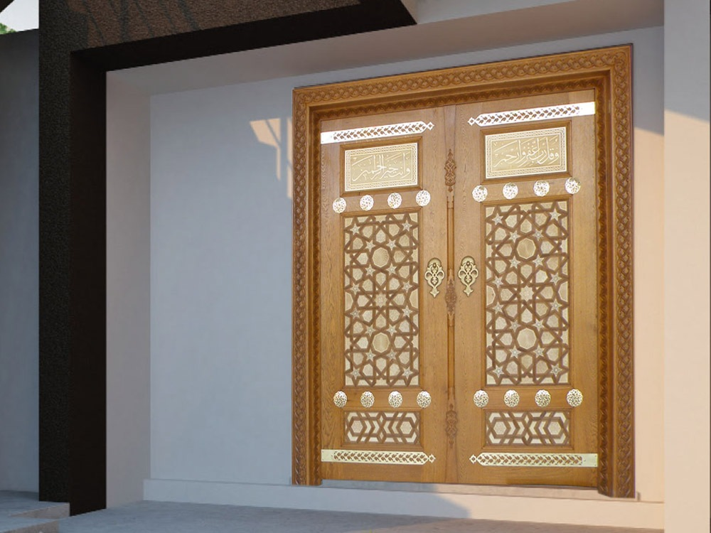 HAMLE; Turkey mosque doors deals, villa exterior doors deals, house exterior door deals